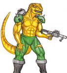 Extreme Dinosaurs: T-Bone by CosbyDaf