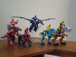 Dinobot Rangers by CosbyDaf