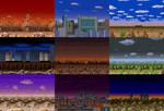 SNES Ultraman: Stages by CosbyDaf