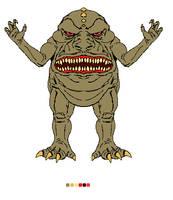 Big Mouth Kaiju by CosbyDaf