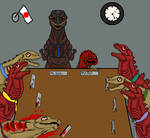 Giant Monsters All-Out Board Meeting by CosbyDaf