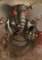 African Elephant Ver.3 by Nutthead