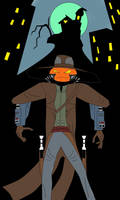Jack O'Lantern as Cad Bane by darthdac