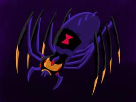 Blackarachnia Spider by darthdac