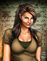 Lara Croft by forbesrobertson