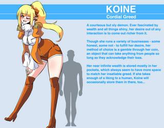 Koine - Reference Sheet by Herretik