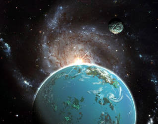 Galaxy rising by AngeloVentura