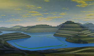 Terraced World by AngeloVentura