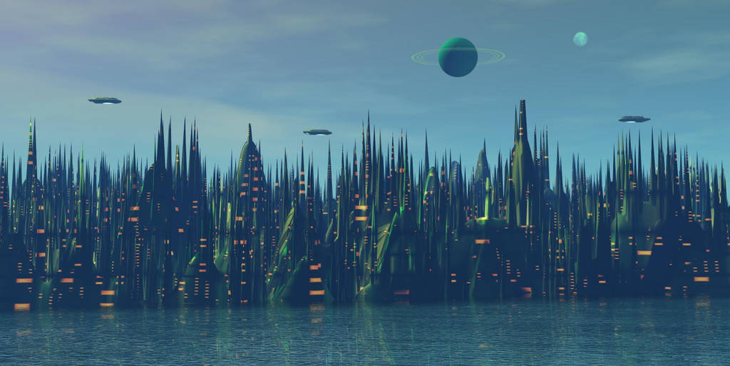 Coruscant morning by AngeloVentura