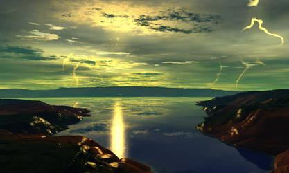 Sunrise on Hyss III by AngeloVentura
