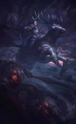 Wild Hunt by Arthur-Panshi