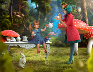 Alice in Wonderland by SimKa48