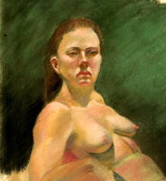 Diane Pastel study by Darkdesyre