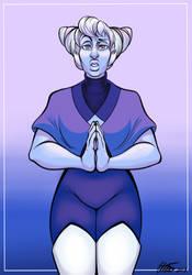 Holy Blu by LittleHatCat