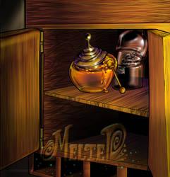 Honey and Vinegar by LittleHatCat