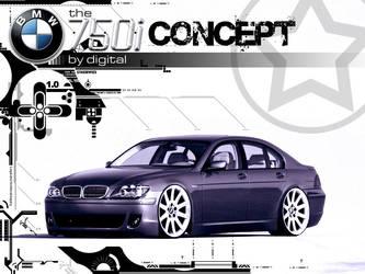 BMW 750i Concept by DiGiTALMAGiC