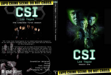 CSI Las Vegas s.01 SWE cover by DiGiTALMAGiC