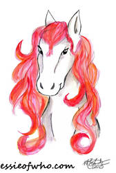 Red Horse by EssieofWho