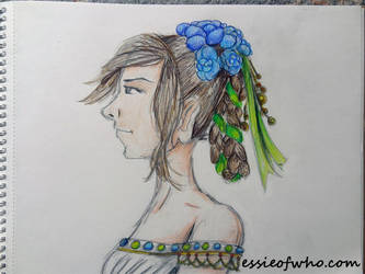 Girl With The Fancy Hair No 2 by EssieofWho
