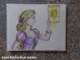 Rapunzel Badge Entry by EssieofWho