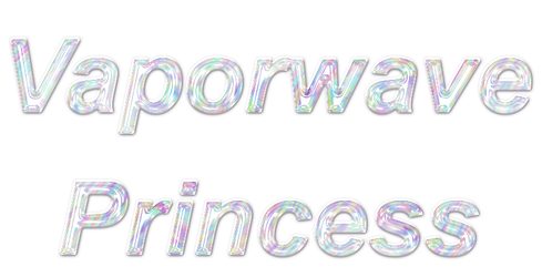 Vaporwave Princess by pretty-pomeranian