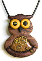 Steampunk Owl by FauxHead