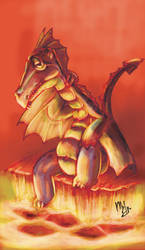 Lonely Dragon by murd3r