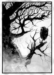 Crow by bigcream