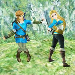 Link and Zelda Body Swap by ChaosBoring