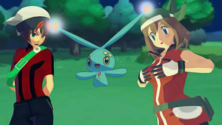 Pokemon Body Swap 1 (Brendan/May) by ChaosBoring