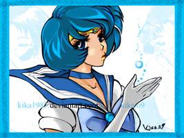 sailor mercury by kika1983