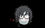 Emoji of Jeff the killer by Insanechan