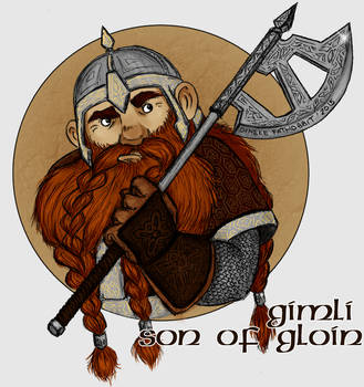 Gimli, son of Gloin by DinekeFH