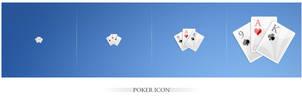 Poker Icon by Fel1x
