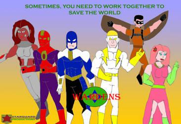Wardens Concept Art Poster by guybracha