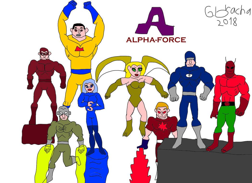 Alphaforce Remake by guybracha