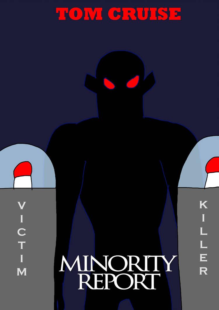 Minority Report - alternative movie poster by guybracha