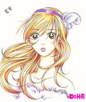 Peach Girl- Momo by DiHA-Artwork