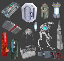 Dark Territory II: game models by darth-biomech