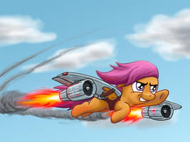 I WILL fly, no matter what! by darth-biomech