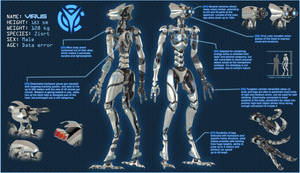 Virus Character Sheet by darth-biomech