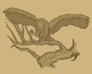 Creature Sketch by Aurauris