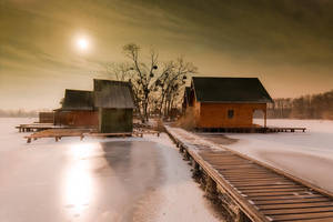 wintery by arbebuk