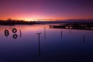 winter dawn by arbebuk