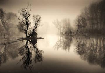 silent lake by arbebuk