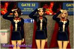 Air Stewardess by Heavy-Fantasy