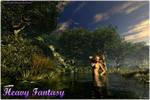 Forest Elf Dawn by Heavy-Fantasy