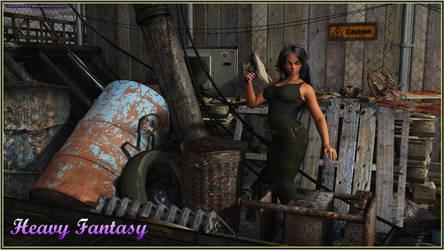 Dark Elf by Heavy-Fantasy