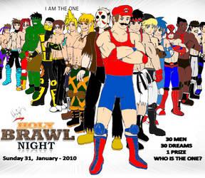 Holy Brawl Night 2010 Poster by 2ndCityCrusader