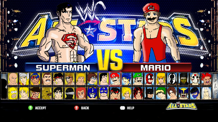 WWC All Stars Select Screen by 2ndCityCrusader